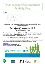 River Mease WatersideCare Activity Day
