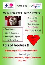 Over 55 Winter Wellness Event
