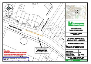 School Keep Clear (Bosworth Road, Measham and Occupation Road, Albert Village) proposed Traffic Regulation Order(HTWMT/4601)